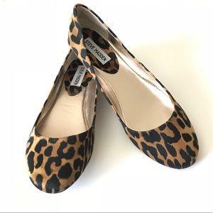 Steve Madden Leopard Flats